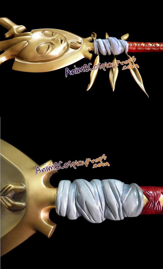 Bleach Cosplay Weapons Mayuri Kurotsuchi Zanpakuto Ashisogi Jizo Sword