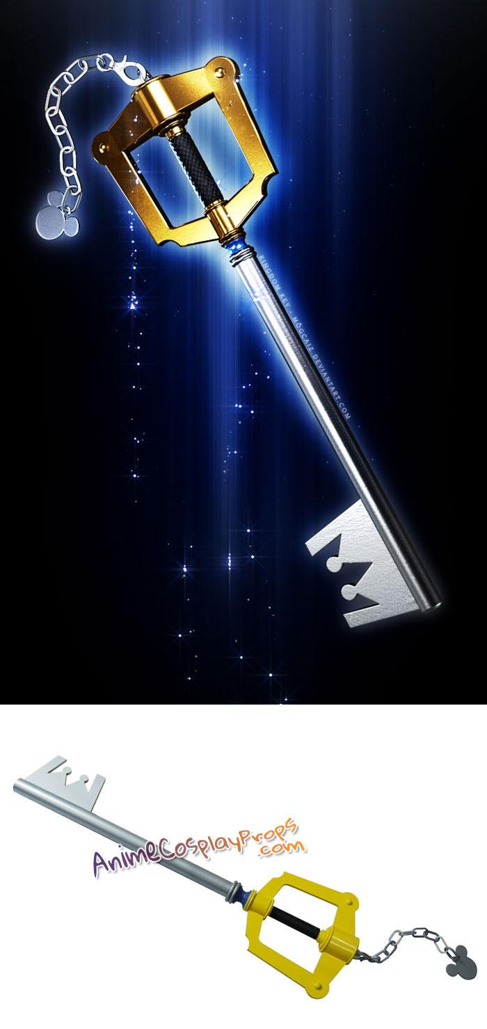 Kingdom Hearts II Weapons The Kingdom Key Cosplay Keyblade