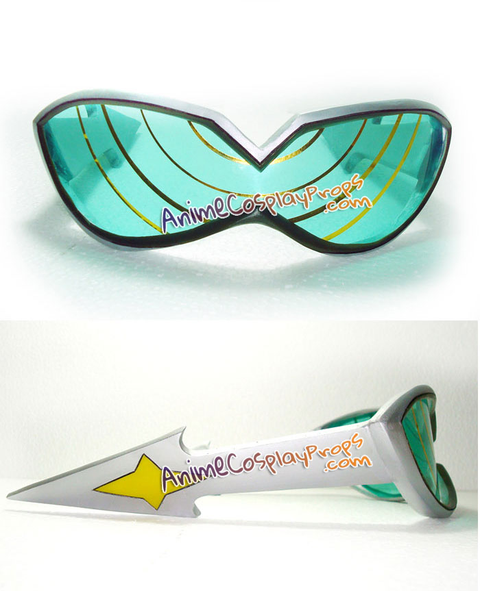 Mega Man Glasses Rockman Cosplay Glasses