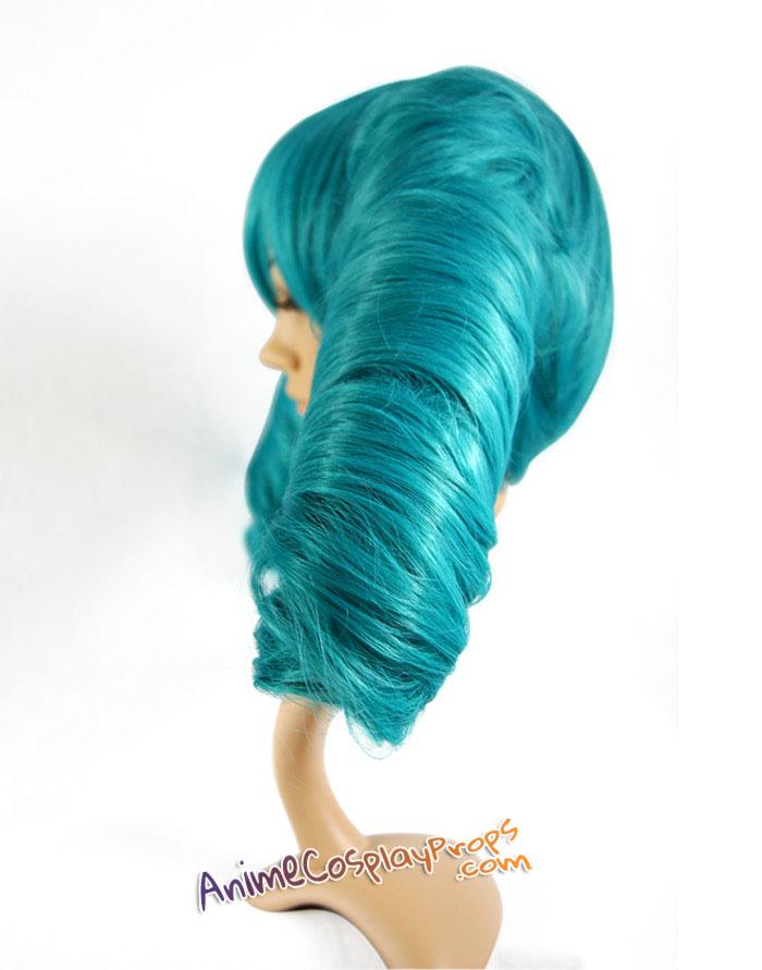 Miku Secret Police Cosplay Wig