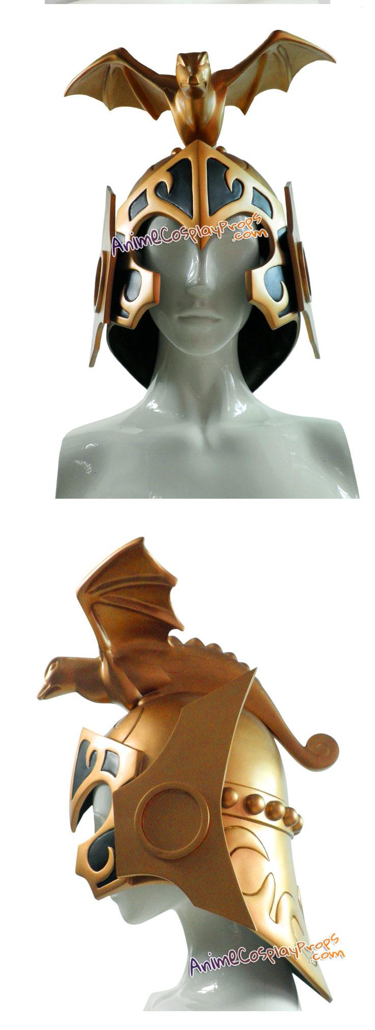 Saint Seiya Cosplay Pope Sage Helmet